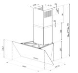 Wiggo-WE-E633G(C)-Schuine-Afzuigkap-60-cm-Creme-Triple_Glas_spec