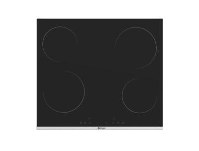 Wiggo WH-E614G(B) - Inbouw inductie kookplaat - 1 fase - 60cm - Zwart