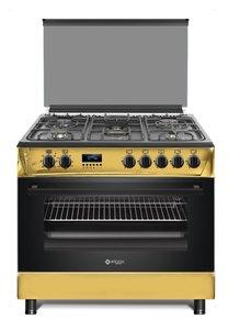 Wiggo WO-E909R(GB) Serie 9 - Gasfornuis - Goud Zwart (Limited Edition)